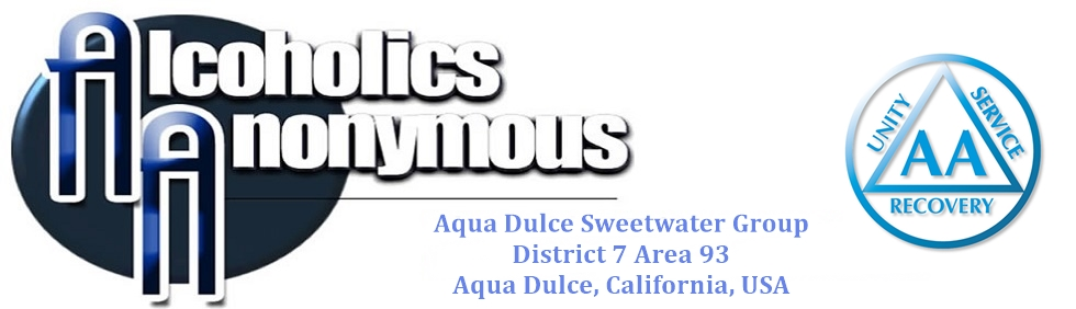 Aqua Dulce Sweetwater Group of Alcoholics Anonymous