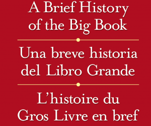 Brief History of the Big Book