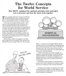 Twelve Concepts of World Services
